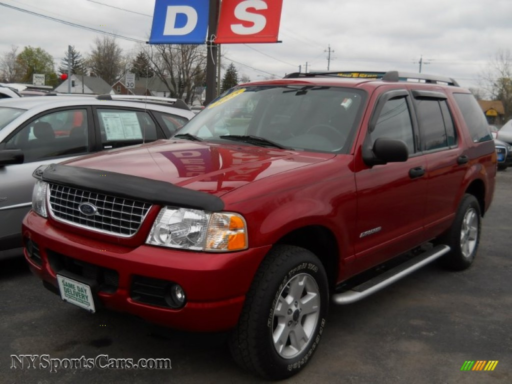 2005 ford explorer xlt 4x4 in redfire metallic a21315 cars for sale in. Black Bedroom Furniture Sets. Home Design Ideas