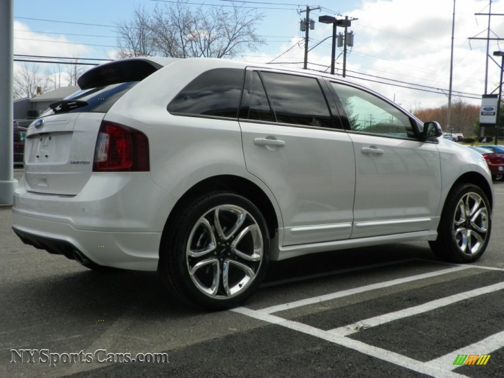 2013 ford edge sport awd in white platinum tri coat photo 6 a12887 cars. Black Bedroom Furniture Sets. Home Design Ideas