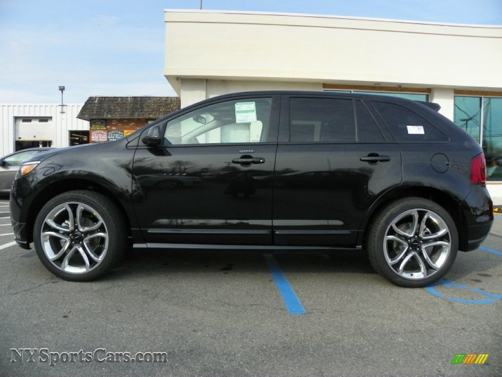 2013 ford edge sport awd in tuxedo black metallic photo 7 a12886 cars. Black Bedroom Furniture Sets. Home Design Ideas