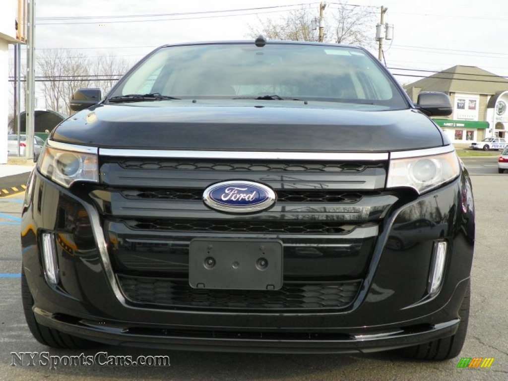 2013 ford edge sport awd in tuxedo black metallic photo 3 a12886 cars. Black Bedroom Furniture Sets. Home Design Ideas
