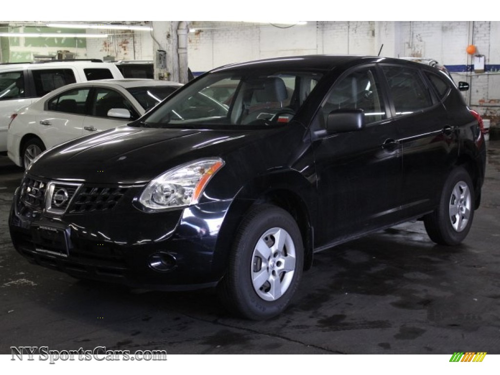 Wicked black gray nissan rogue s awd