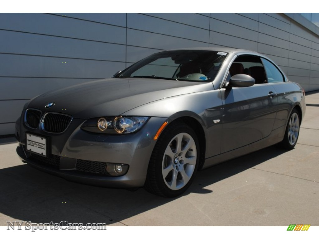 2009 bmw 3 series 335i convertible in space grey metallic. Black Bedroom Furniture Sets. Home Design Ideas