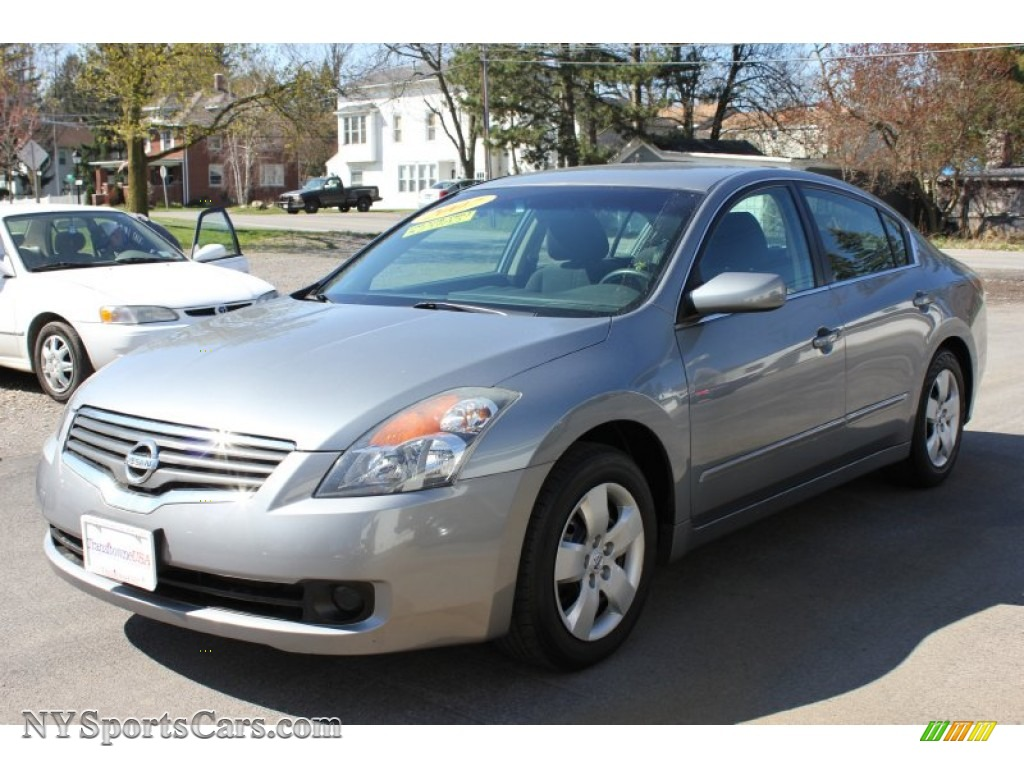 2007 nissan altima 2 5 s in precision gray metallic 436786 cars for sale. Black Bedroom Furniture Sets. Home Design Ideas