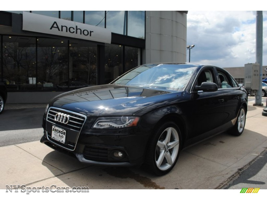 2011 audi a4 2 0t quattro sedan in phantom black pearl 044837 cars for. Black Bedroom Furniture Sets. Home Design Ideas