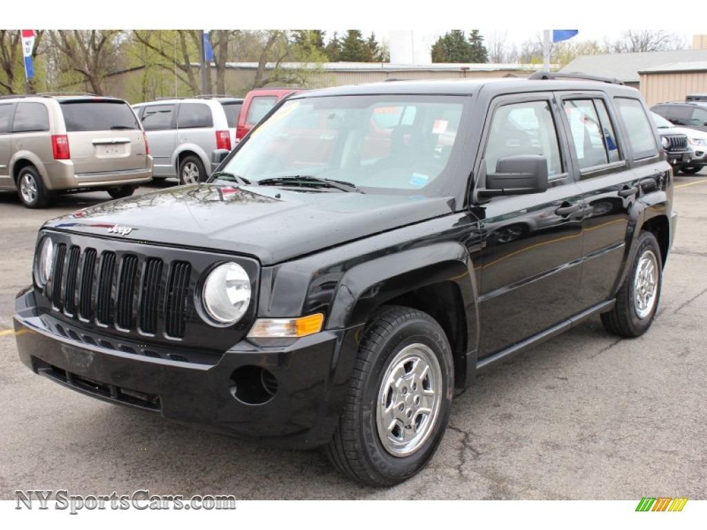 2009 jeep patriot sport in brilliant black crystal pearl 121772 cars for. Black Bedroom Furniture Sets. Home Design Ideas