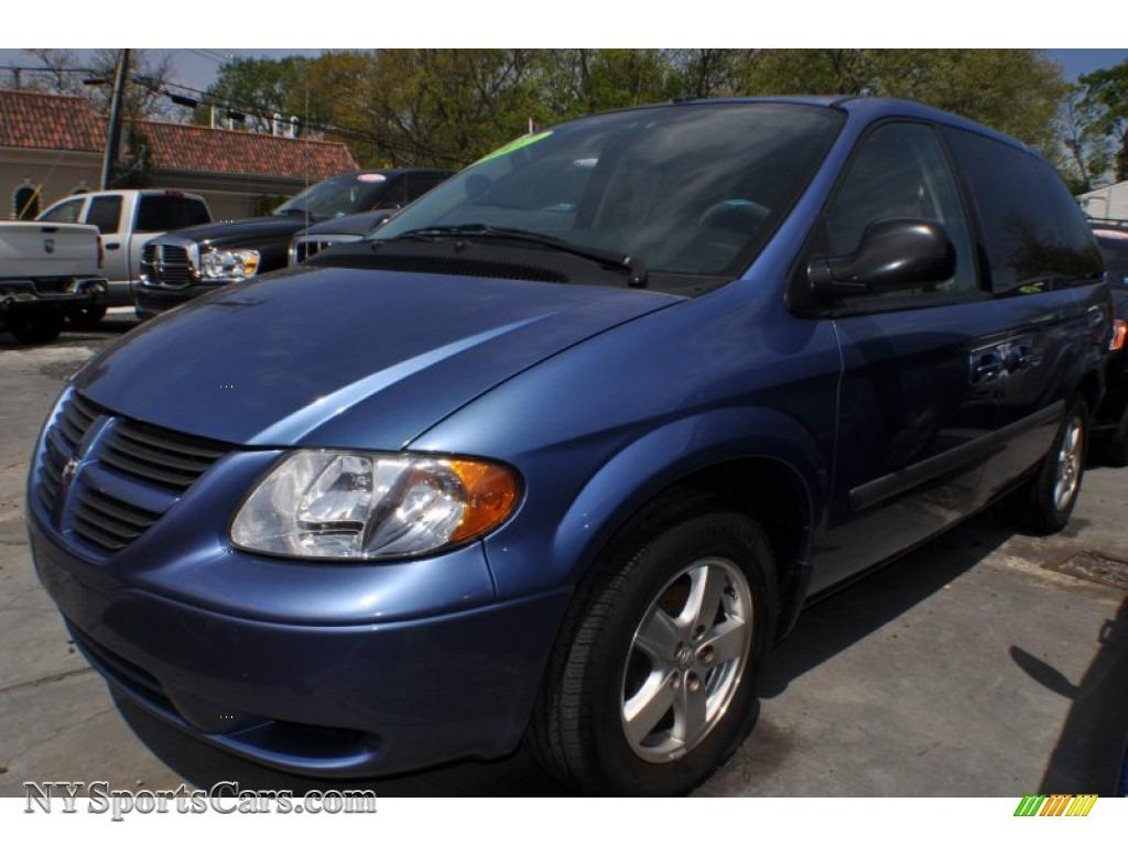 2007 Dodge Caravan Sxt In Marine Blue Pearl 179358