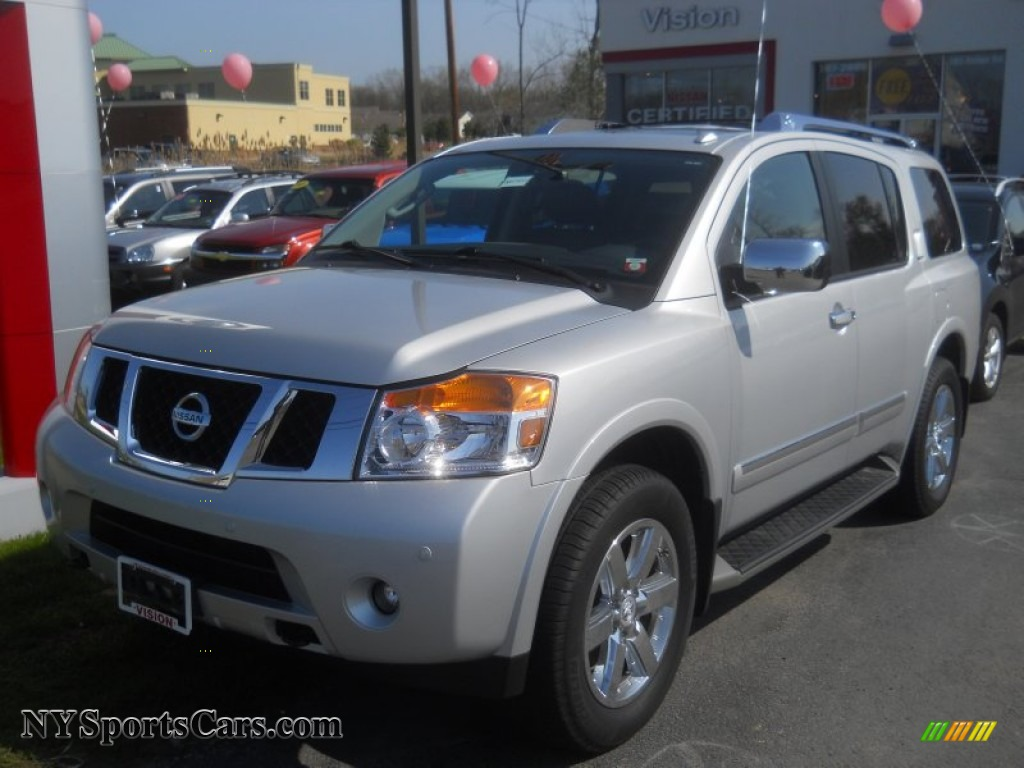 2012 nissan armada platinum 4wd in brilliant silver 600999 cars for sale. Black Bedroom Furniture Sets. Home Design Ideas