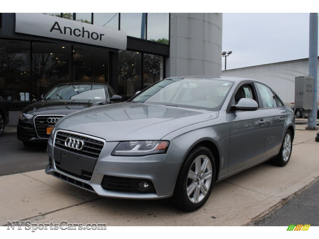 2009 Audi A4 2 0t Premium Quattro Sedan In Quartz Grey