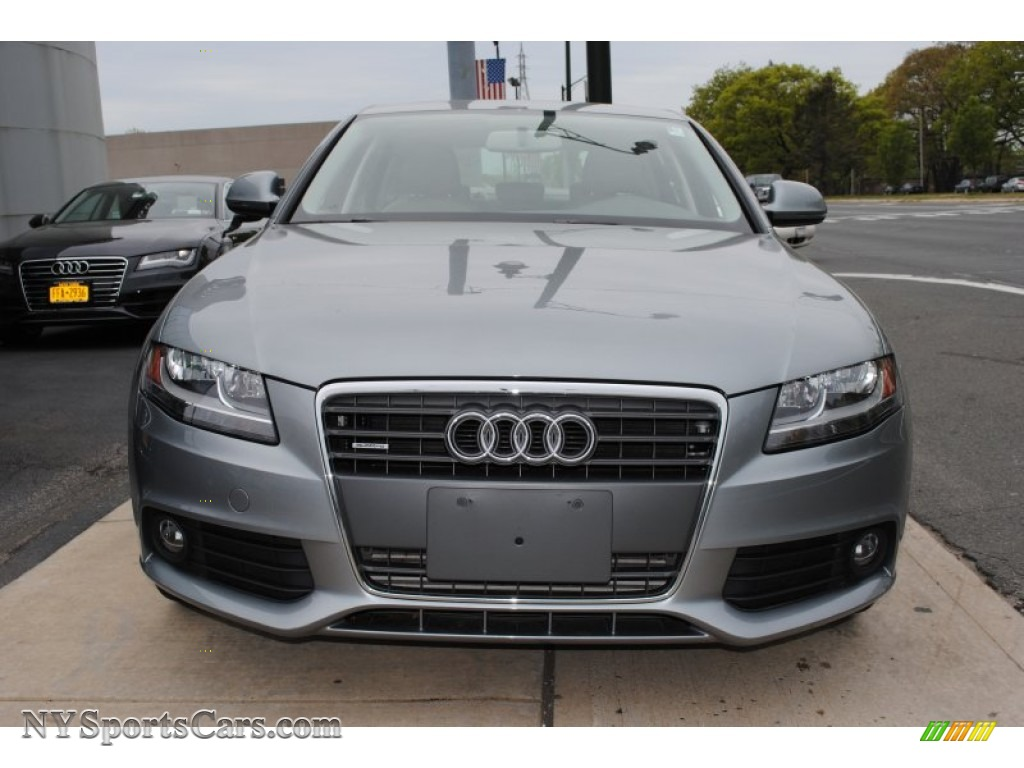 2009 audi a4 2.0t premium quattro sedan in quartz grey metallic