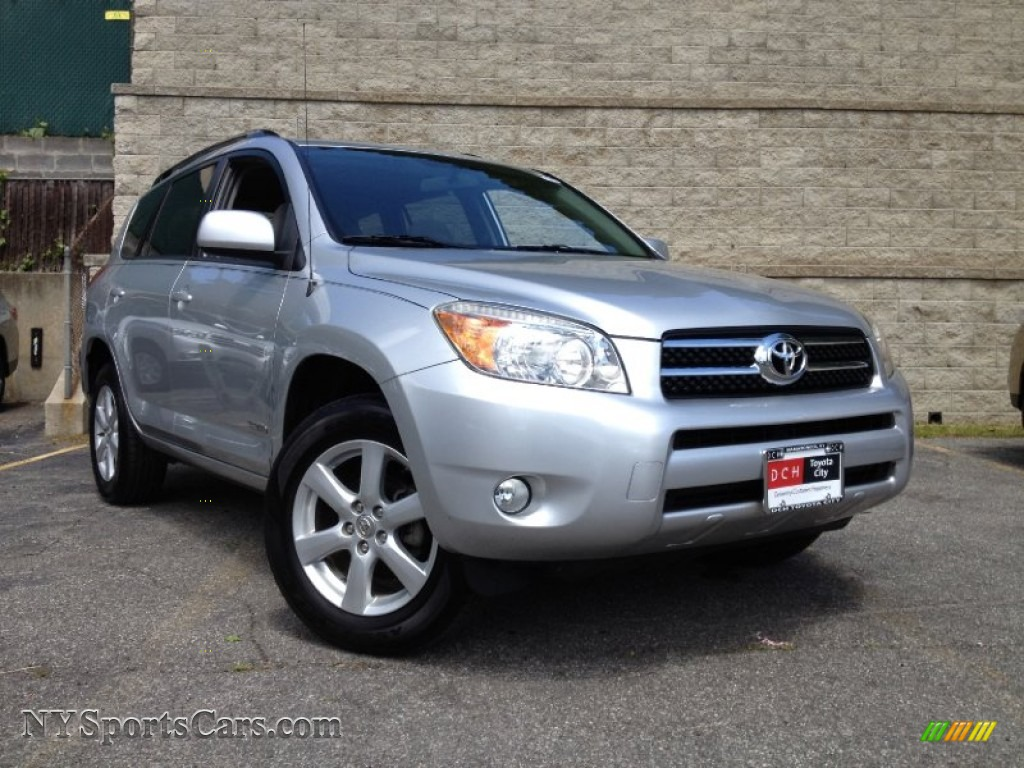 2007 toyota rav4 limited 4wd in classic silver metallic. Black Bedroom Furniture Sets. Home Design Ideas