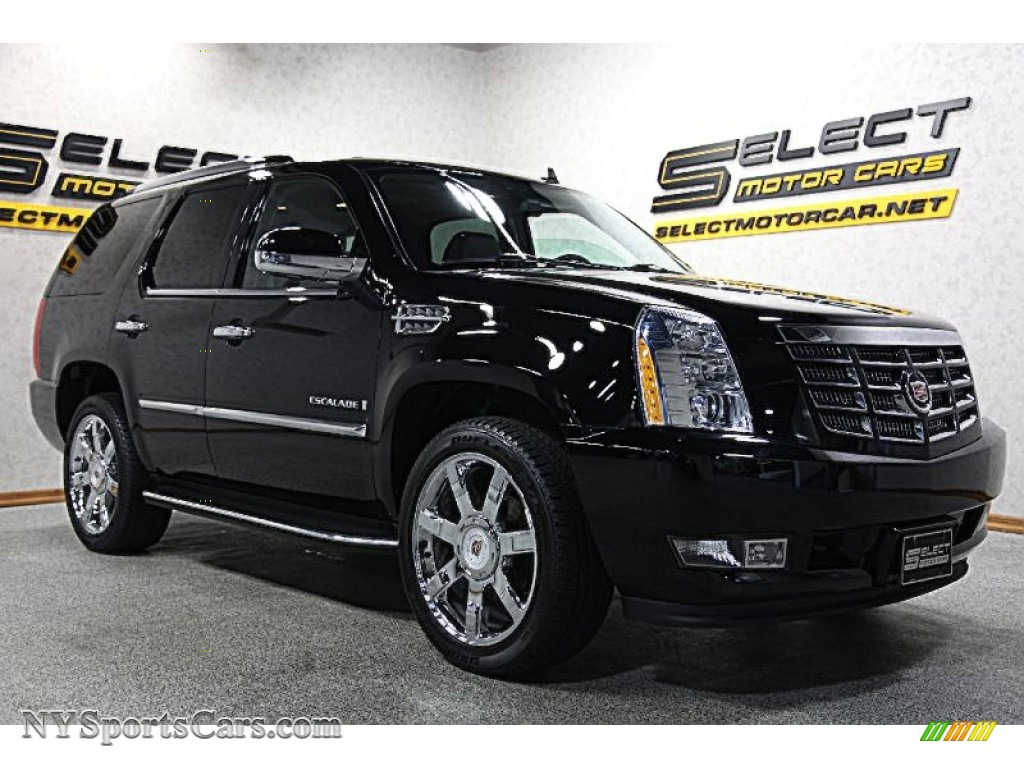 2009 cadillac escalade awd in black raven photo 3 131437 cars for sale. Black Bedroom Furniture Sets. Home Design Ideas