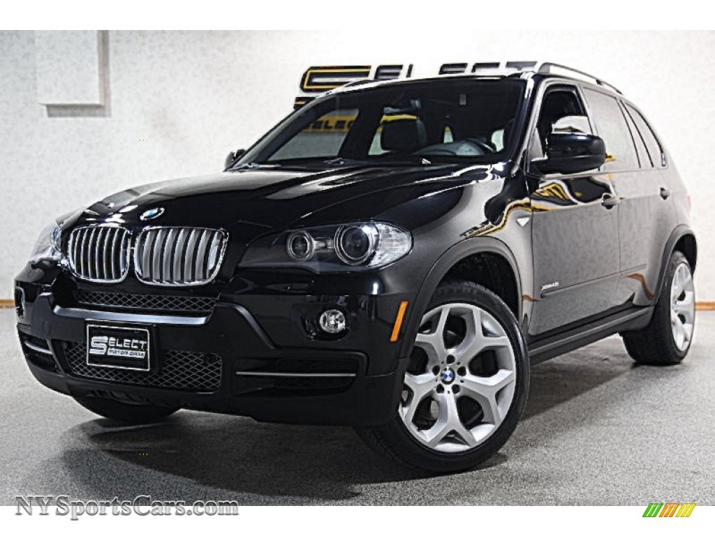 2009 bmw x5 xdrive48i in jet black 171528 cars for sale in new york. Black Bedroom Furniture Sets. Home Design Ideas