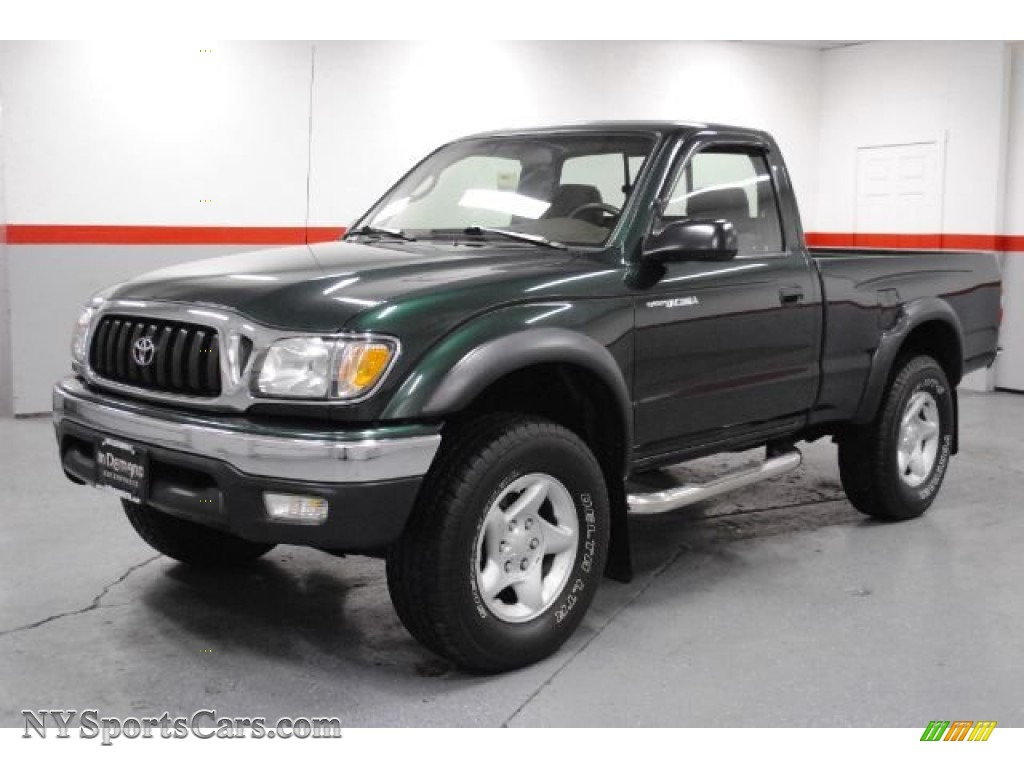 2004 toyota tacoma regular cab 4x4 in imperial jade mica photo 8 338807. Black Bedroom Furniture Sets. Home Design Ideas