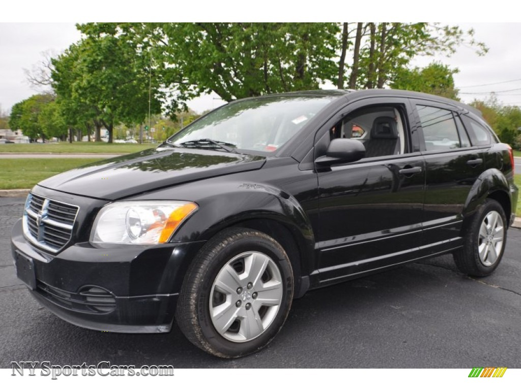 2007 dodge caliber sxt in black 553551 cars for sale in new york. Black Bedroom Furniture Sets. Home Design Ideas