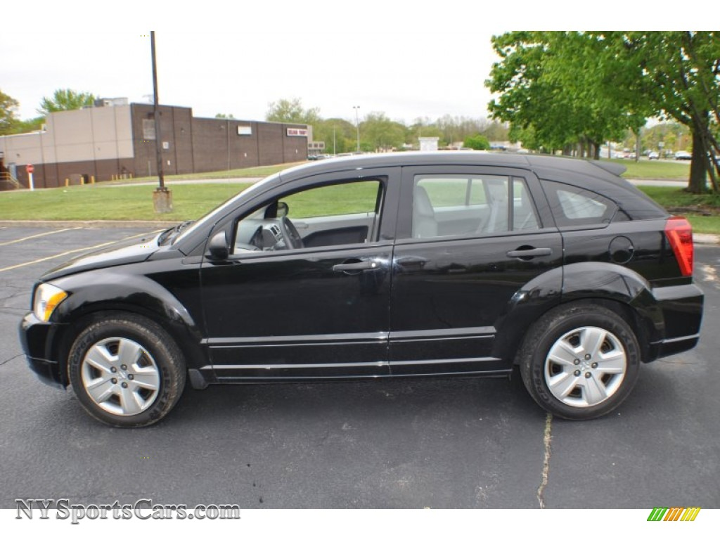 2007 dodge caliber sxt in black photo 5 553551 cars for sale in new york. Black Bedroom Furniture Sets. Home Design Ideas