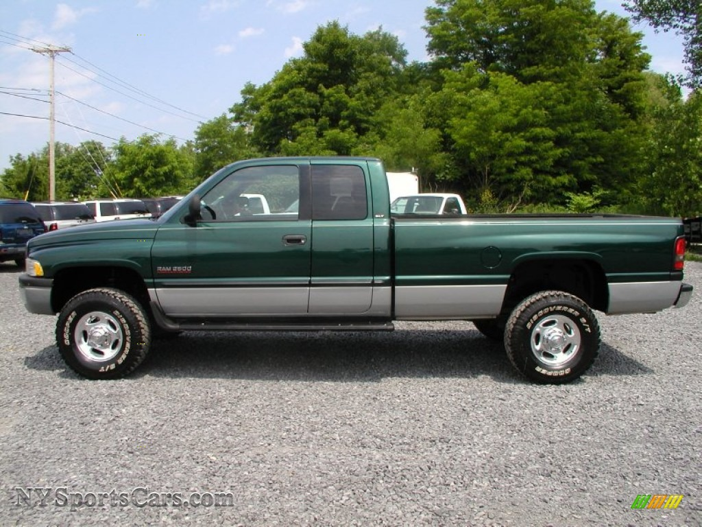 2000 dodge ram 2500 slt extended cab 4x4 in forest green pearlcoat photo 3 129655. Black Bedroom Furniture Sets. Home Design Ideas