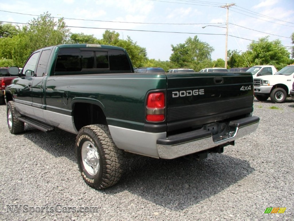 2000 dodge ram 2500 slt extended cab 4x4 in forest green pearlcoat photo 5 129655. Black Bedroom Furniture Sets. Home Design Ideas