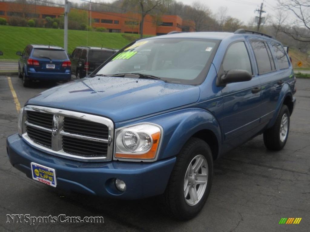 2004 Dodge Durango Slt 4x4 In Atlantic Blue Pearl 224204 Nysportscars Com Cars For Sale In New York