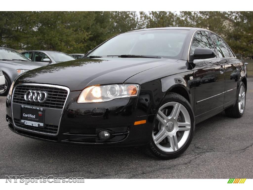 2007 audi a4 2.0t quattro sedan in brilliant black - 073377