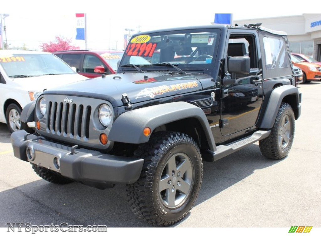 2010 jeep wrangler sport mountain edition 4x4 in black 224121 cars for. Black Bedroom Furniture Sets. Home Design Ideas
