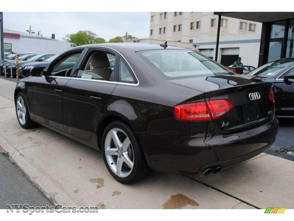 2011 audi a4 2 0t quattro sedan in teak brown metallic photo 4 045046. Black Bedroom Furniture Sets. Home Design Ideas