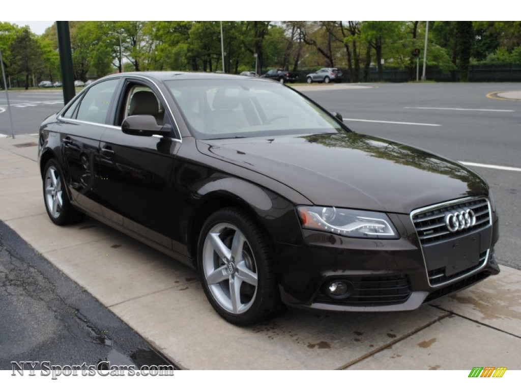 2011 Audi A4 2 0t Quattro Sedan In Teak Brown Metallic