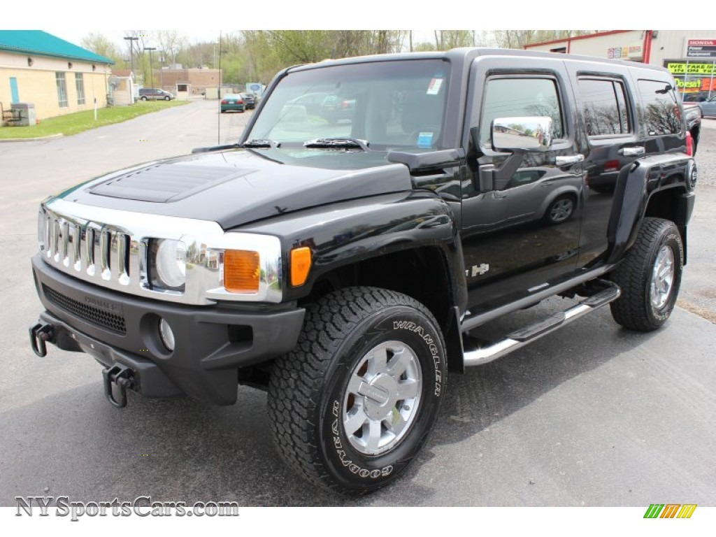 2006 hummer h3 in black 187489 nysportscars cars for black ebony blackmorroco brown hummer h3 vanachro Image collections