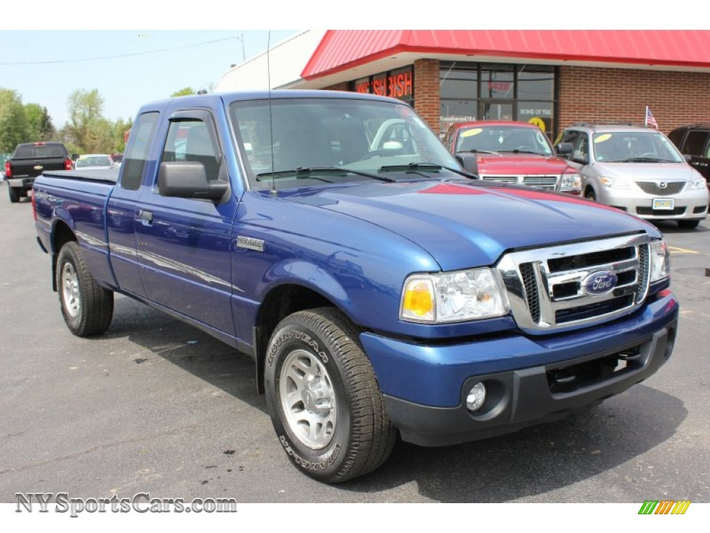 2010 ford ranger xlt supercab 4x4 in vista blue metallic a40509 cars for. Black Bedroom Furniture Sets. Home Design Ideas