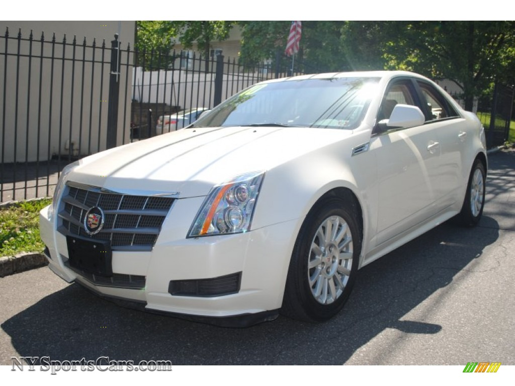 2010 cadillac cts 3 0 sedan in white diamond tricoat 147881 cars for sale. Black Bedroom Furniture Sets. Home Design Ideas