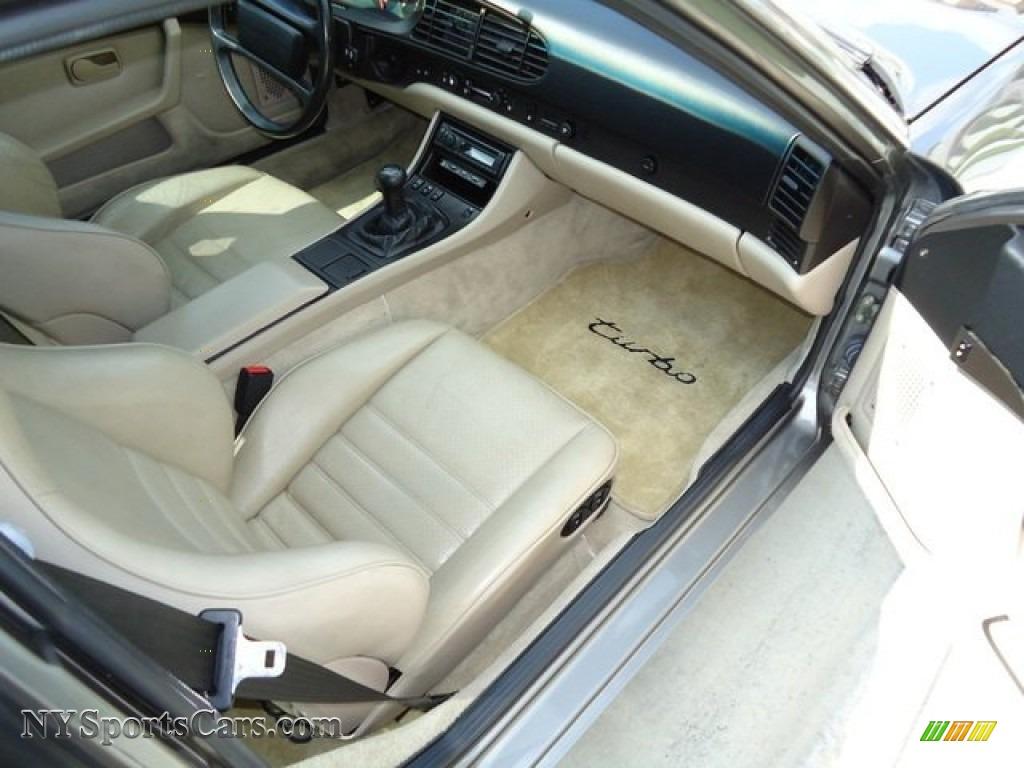 1986 porsche 944 turbo in stone grey metallic photo 6 154384 1986 944 turbo stone grey metallic tan photo 6 vanachro Gallery