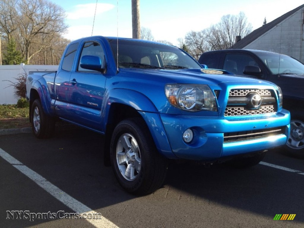2011 toyota tacoma v6 trd sport access cab 4x4 in speedway blue photo 29 003150. Black Bedroom Furniture Sets. Home Design Ideas