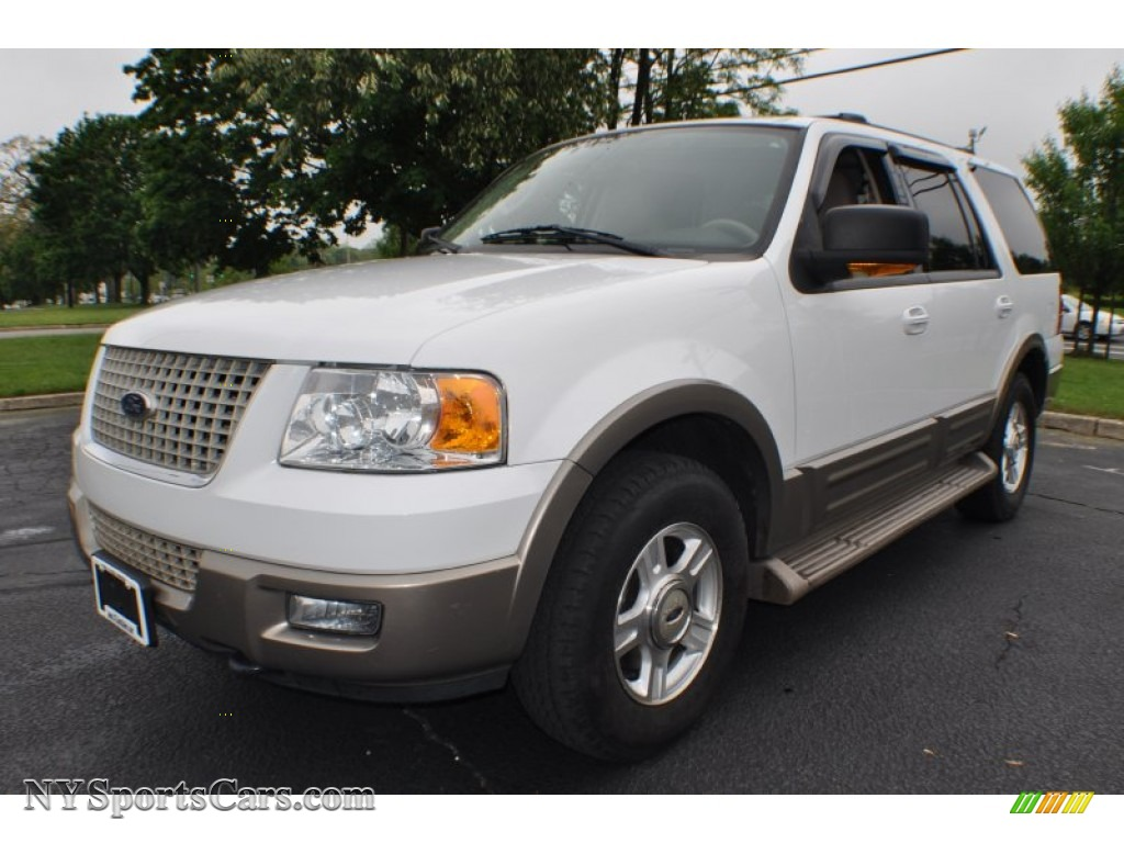 2003 ford expedition eddie bauer 4x4 in oxford white. Black Bedroom Furniture Sets. Home Design Ideas