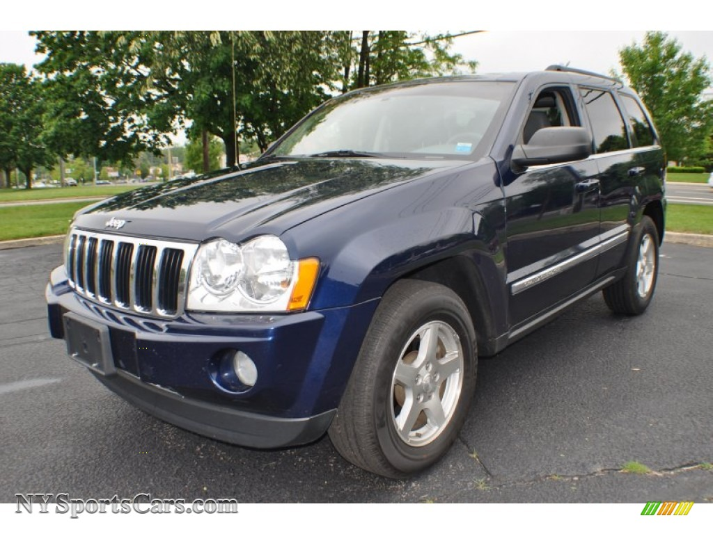 2005 jeep grand cherokee limited 4x4 in midnight blue pearl 577357 cars. Black Bedroom Furniture Sets. Home Design Ideas