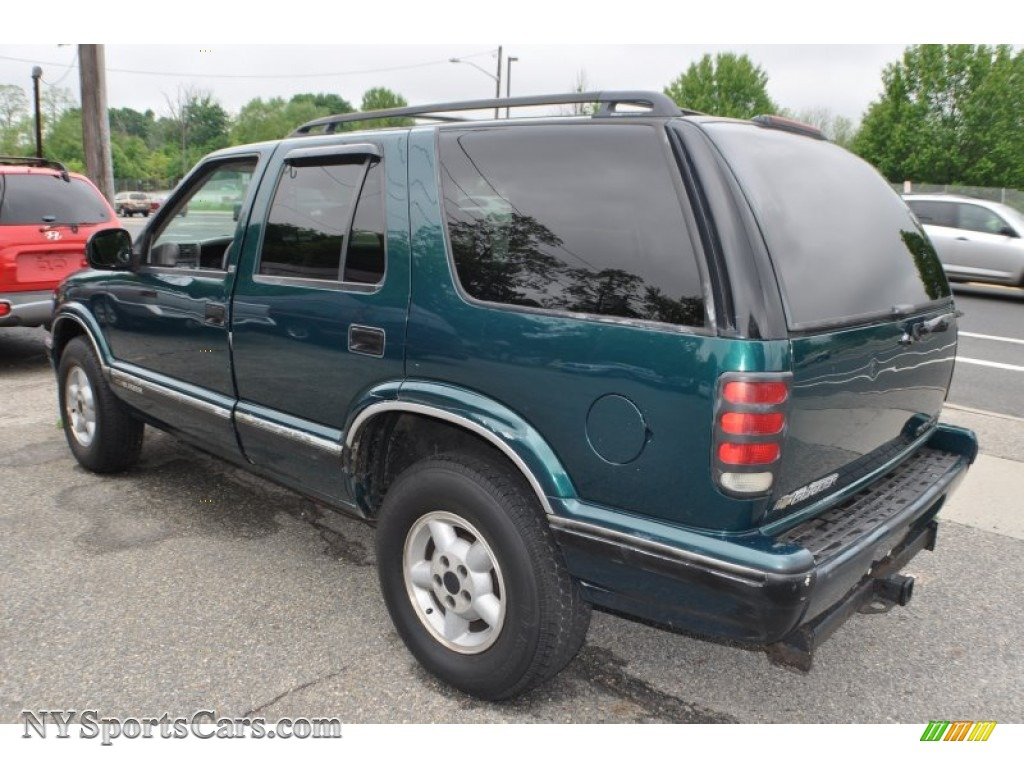 1996 chevrolet blazer ls 4x4 in emerald green metallic photo 3 299210 nysportscars com cars for sale in new york nysportscars com
