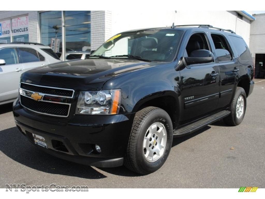 2012 chevrolet tahoe lt 4x4 in black 121594 cars for sale in new york. Black Bedroom Furniture Sets. Home Design Ideas