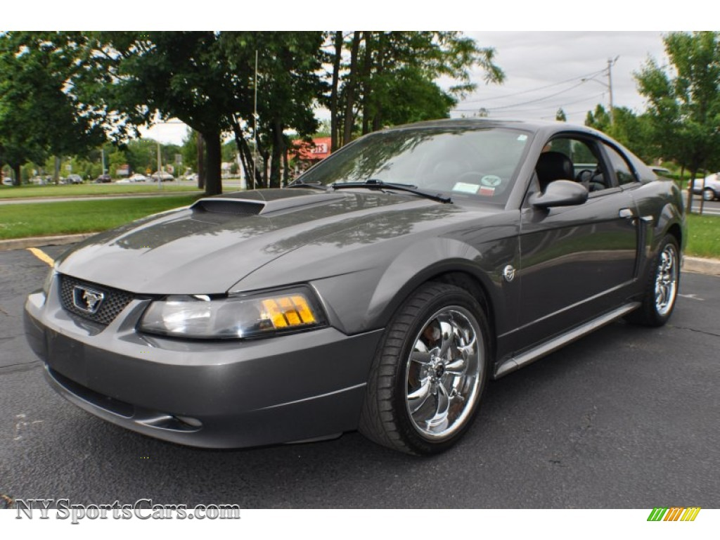 Dark Shadow Grey Metallic / Dark Charcoal Ford Mustang GT Coupe