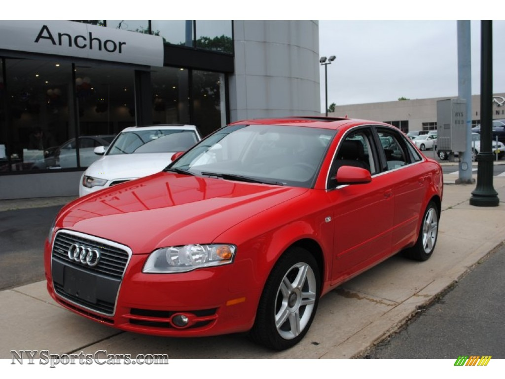 2006 Audi A4 2 0t Quattro Sedan In Brilliant Red 180766