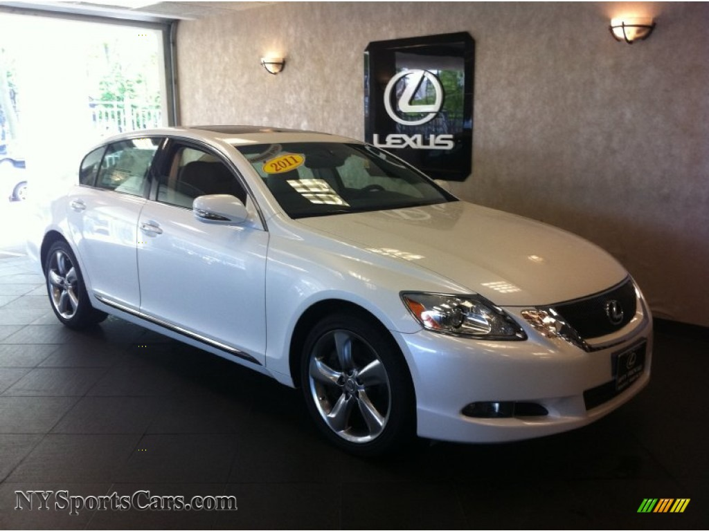 2011 lexus gs 350 in starfire white pearl 051364. Black Bedroom Furniture Sets. Home Design Ideas