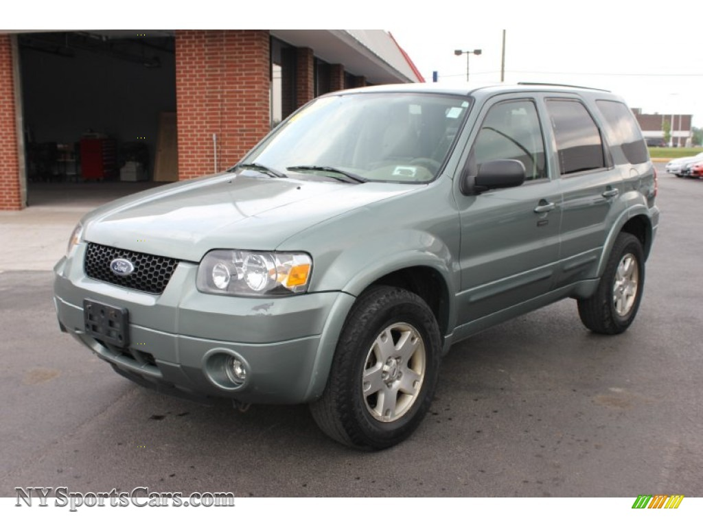 2006 Ford Escape Limited 4WD in Titanium Green Metallic ...