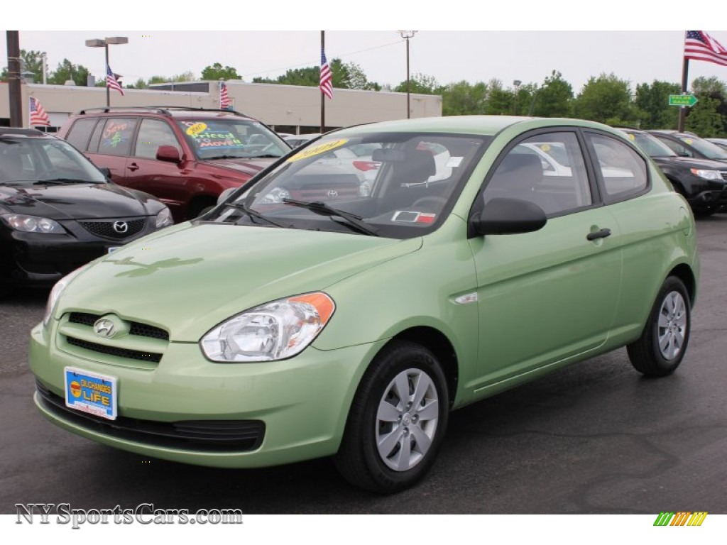 2009 Hyundai Accent Gs 3 Door In Apple Green 134513