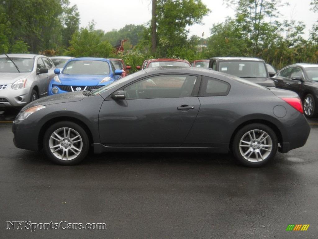 2008 Altima 3.5 SE Coupe   Dark Slate Metallic / Charcoal Photo #18
