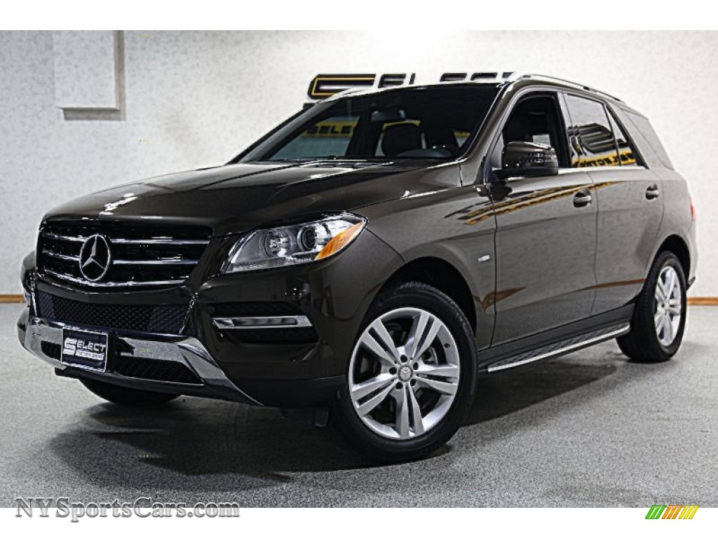 2012 mercedes benz ml 350 4matic in dakota brown metallic for Mercedes benz ml 2012 for sale