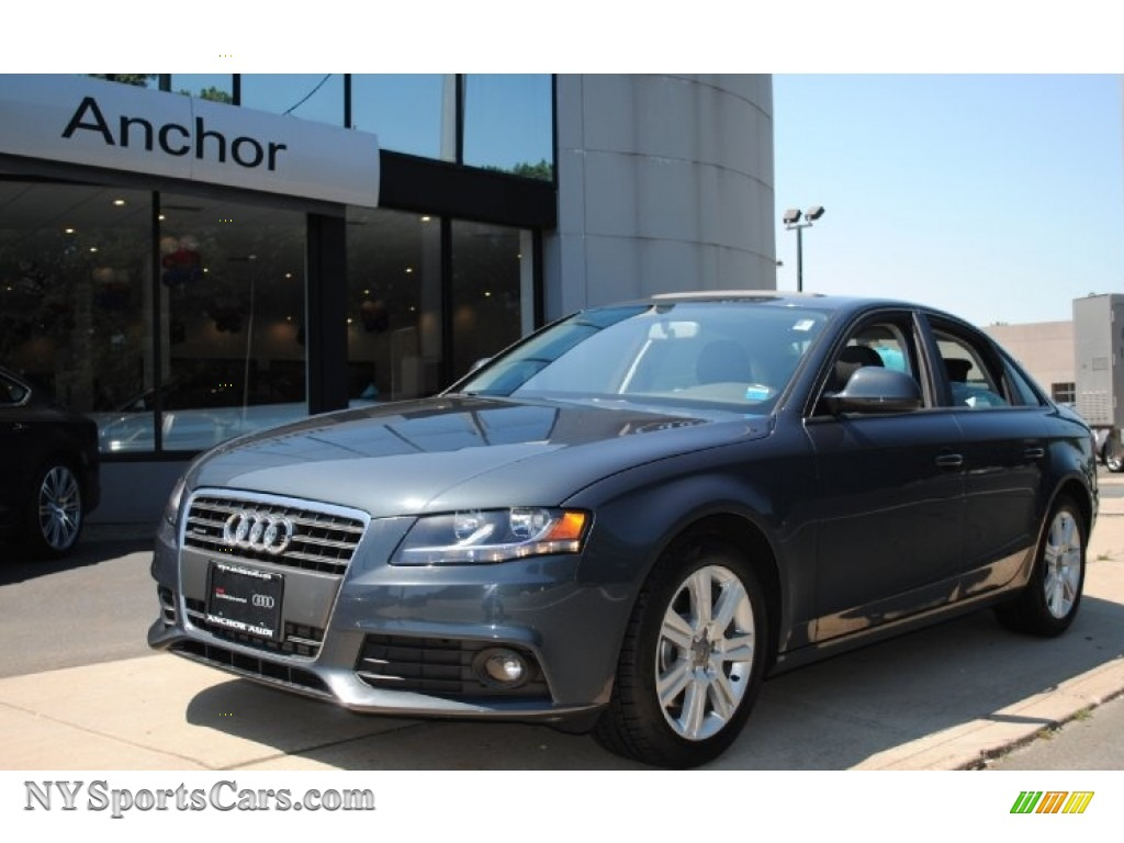 2009 Audi A4 2 0t Premium Quattro Sedan In Meteor Grey