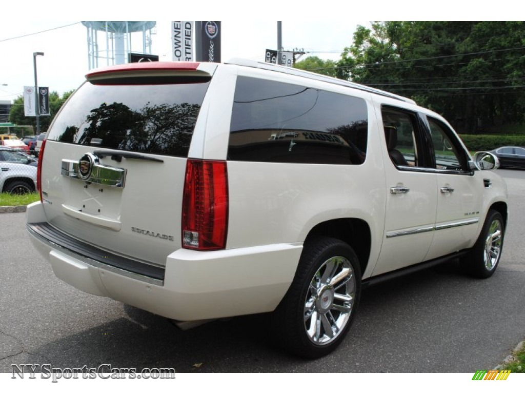 2010 cadillac escalade esv platinum awd in white diamond. Black Bedroom Furniture Sets. Home Design Ideas