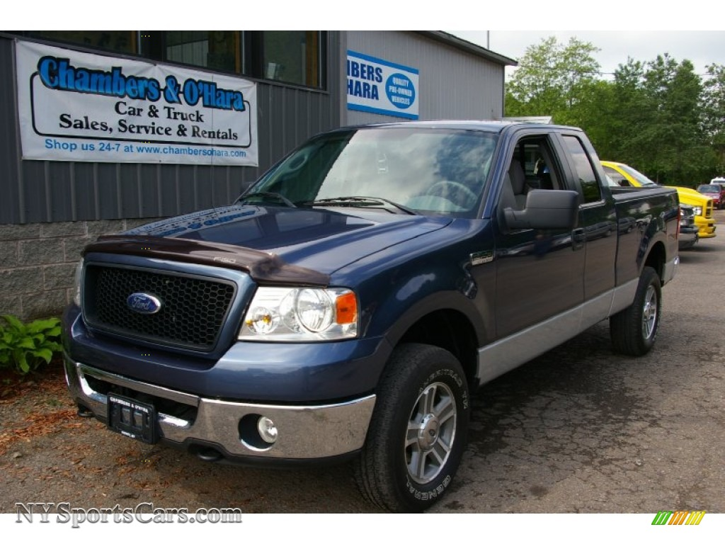 2006 ford f150 xlt supercab 4x4 in true blue metallic b47893 cars for. Black Bedroom Furniture Sets. Home Design Ideas