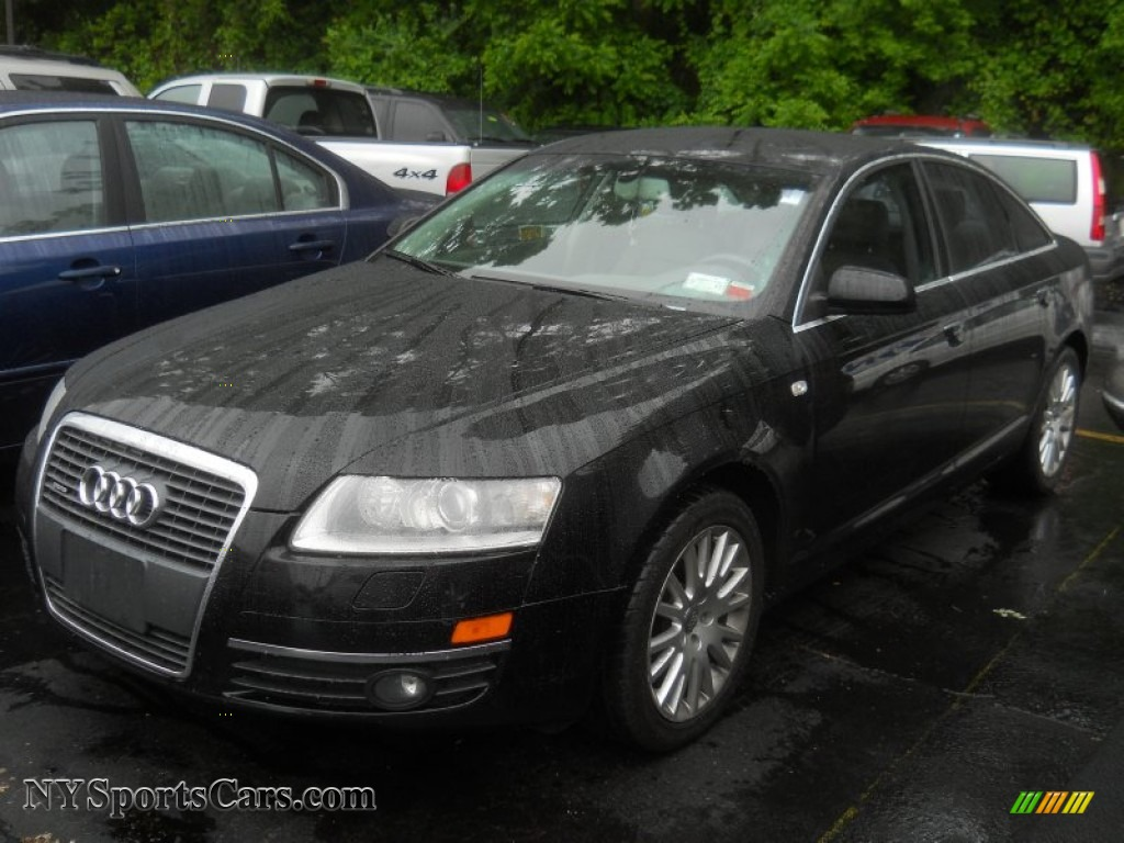 2007 audi a6 3 2 quattro sedan in brilliant black 054598. Black Bedroom Furniture Sets. Home Design Ideas