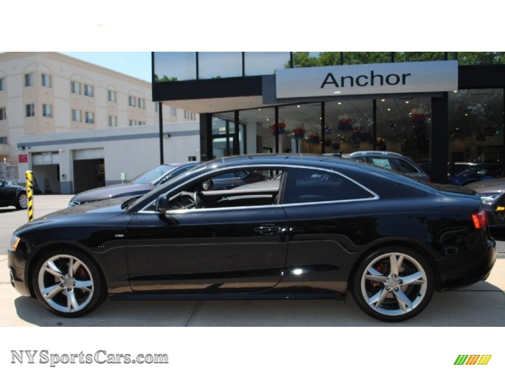 2009 Audi A5 3.2 quattro Coupe in Brilliant Black photo #3 ...