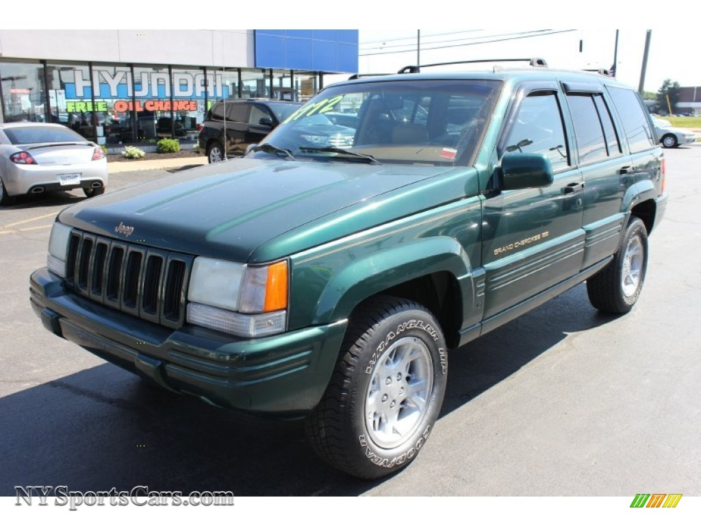 1998 Jeep Grand Cherokee Limited 4x4 In Forest Green