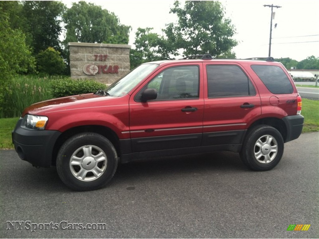 2005 ford escape xlt v6 4wd in redfire metallic a17122 for Motor ford escape 2005
