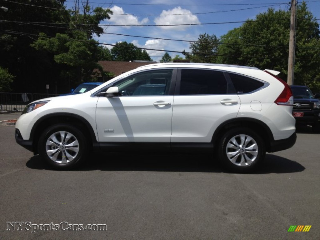 2012 Honda Cr V Ex L 4wd In White Diamond Pearl Photo 8 028692 Nysportscars Com Cars For